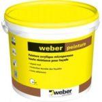 Weber peinture